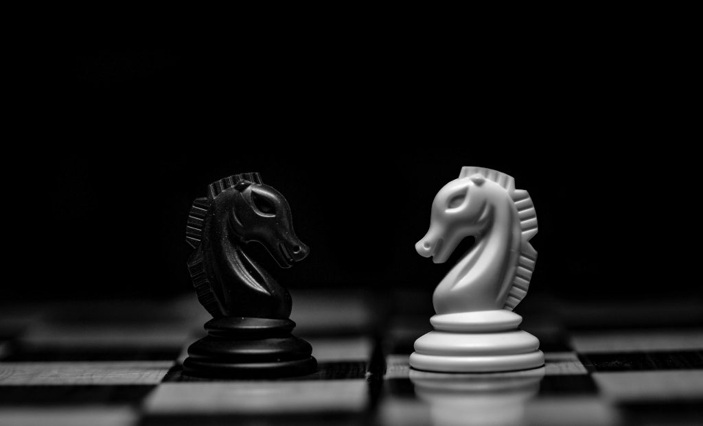 The tactical and strategic chess piece